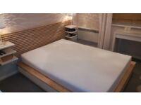 Memory foam double bed mattress