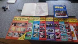 on the road vintage magazines