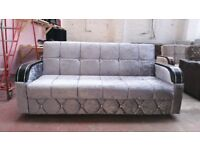 TURKISH DESIGNERS SOFA BED (NHYL ONLINE FURNITURE)