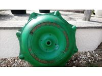 Dening and Son of Chard Cast Iron Drive Wheel