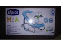 Chicco Mia Baby Boys bouncing chair with box