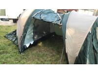 4 man tent practically new