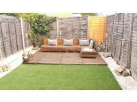 Artificial grass 4m x 3.3m / 0.5m x 3.3m