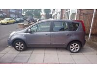 Nissan Note Acenta 57 plate - Bodywork Damage.
