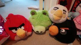 angry bird teddies