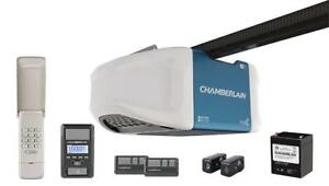 NEW Chamberlain WD1000WFC Garage Door Opener, 1.25 HPS, Wi-Fi Built In for MyQ