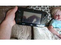 Wii u 32g with 32 games