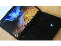 """WARRANTY fast fully working 15.6"""" laptop DELL Intel Core 128GB SSD Windows 10 Microsoft Office"""