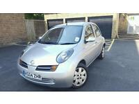 2004 NISSAN MICRA 1.2 PETROL AUTOMATIC.5 STAMPS SERVICE HISTORY