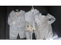 Baby boys clothes bundle new born and 0-3 months