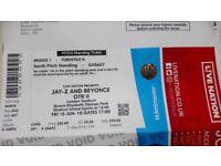 Beyonce & Jay Z OTR 2 ticket 15th June London