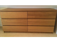 large chest of 6 drawer IKEA