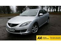 2009 Mazda 6 2.2 TS Diesel**Warranted Mileage**1 Owner**Service History**Bluetooth**1 Year MOT