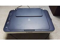 All in one wireless printer, in excellent condition, barely used, as good as new