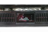 Genexxa 10 Band stereo graphic equaliser
