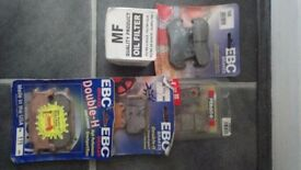 4 sets of brake pads