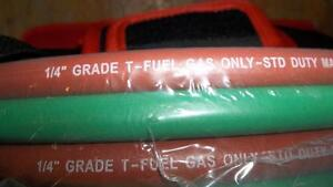 "AIRCO 18"" CUTTING TORCH #3790 & 25' ROLL OF T GRADE HOSE $200.00 Belleville Belleville Area image 5"