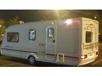 Swift Challenger Caravan 4/5 Berth