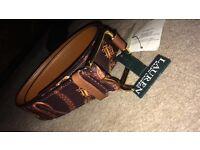 Ralph Lauren women's brown belt, size medium