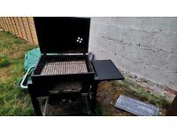 Texas smoker barbecue