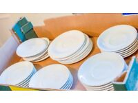 £20 ONO: Saucers, cup plates, coffee cup saucers, tea, espresso saucers by A.Hotelware & Moderne