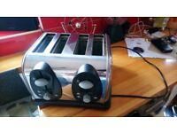 4x slice toaster