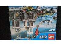 Lego city prison island new
