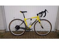 Giant TCR - 1 Campagnolo Roadbike for sale. Quality design that's light and fast.