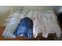 Small bundle baby clothes..newborn upto 7.5lb
