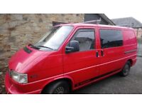 Red VW T4 for sale