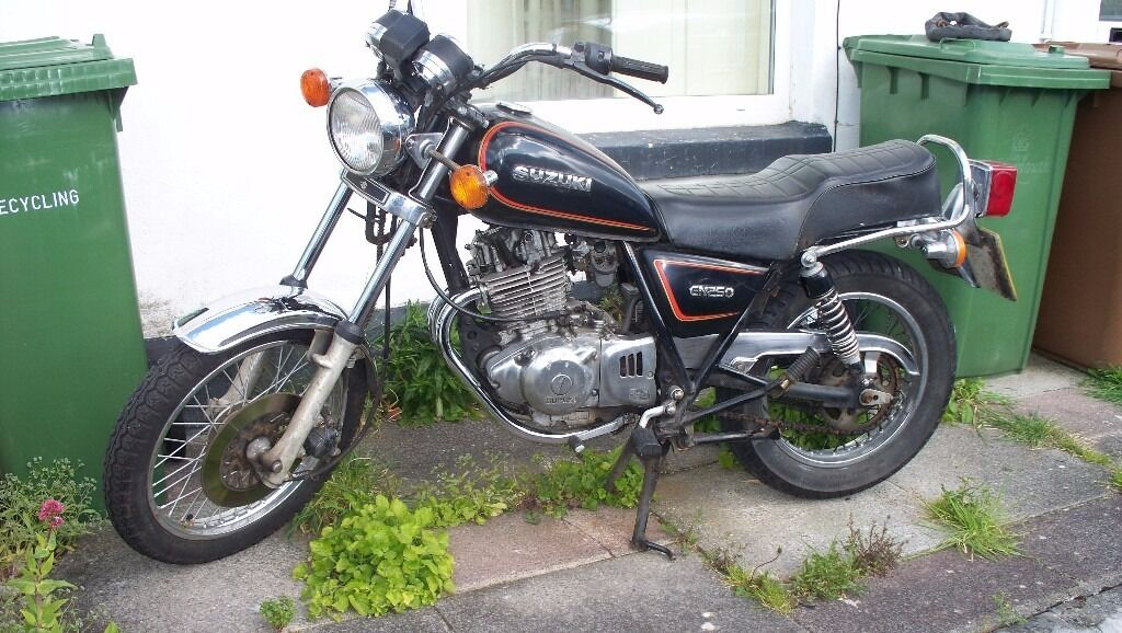 suzuki gn250 gn 250 in plymouth devon gumtree. Black Bedroom Furniture Sets. Home Design Ideas