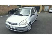 2004(LV54AEX)TOYOTA YARIS 1.3 PETROL MANUAL 50K WARRANTED MILEAGE. FULL DEALER HISTORY