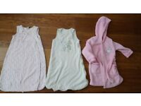 Baby sleeping bags / dressing gown. Birth-12 months. £3
