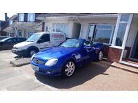 BLUE 2004 MERCEDES SLK 230 Automatic 112000 miles for sale