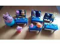 Toy Peppa Pig school play set as shown