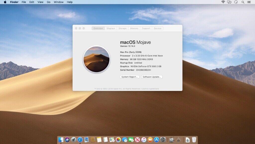 TOP SPEC Apple Mac Pro 5 1 12 core 3 33GHz / 96GB RAM / 512 SSD Best Mac  for vid | in Hackney, London | Gumtree