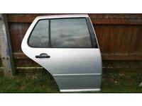 VW Golf 2002 MK4 Driver Right OFFSIDE rear door SILVER