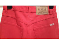 THE TRADER JEANS COMPANY Red Jeans UK 10- barely worn, looks like just bought