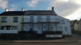unfurnished large house for rent lanjeth near st austell