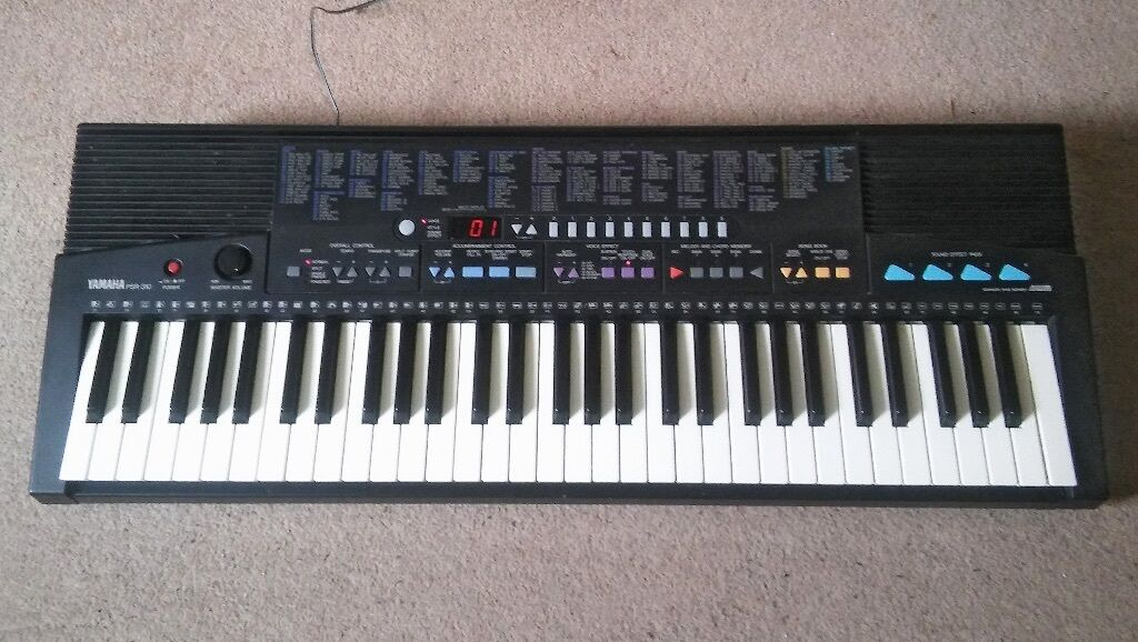 keyboard instrument for sale yamaha psr 310 fully working order in norwich norfolk gumtree. Black Bedroom Furniture Sets. Home Design Ideas