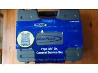 Blue point 3/8 dr 77 piece General service set