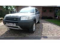2003 land rover freelander Spares or Repair