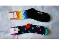 Happy Unisex socks size 7-11