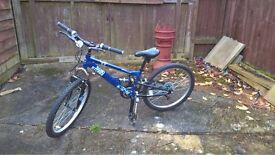 Blue Apollo Sandstorms child bike