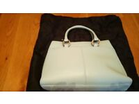 Debenhams Collection baby blue formal Handbag would suit a wedding – As New with cover