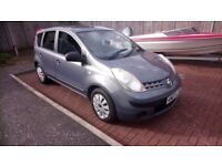 2007 nissan note, 1.4 litre, ideal first or famiky car, motd, £900 may swap p/x why try me