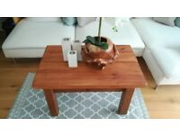 Chunky Solid Wood Coffee Table. *Can deliver*