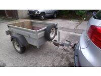 steel trailer four foot by three foot
