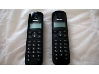 Phillips CD170 Twin pack cordless phone. Unused.