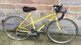 Denton 531 mixte ladies tourer, yellow, VGC – Harrogate